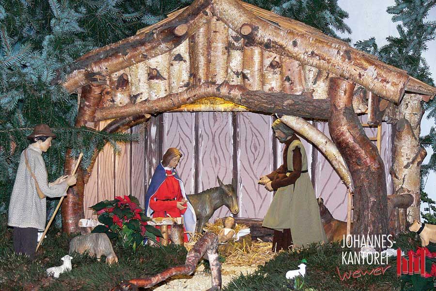 Proben für Weihnachten und die Ewige Anbetung
